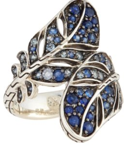 John Hardy John Hardy Feather Bypass Sapphire Ring