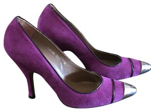 Donald J. Pliner Raspberry/Purple Pumps