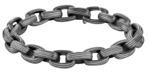 David Yurman David Yurman Sterling Silver Royal Cord Link Men's Bracelet