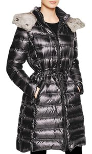 Dawn Levy Winter Down Gray Coat