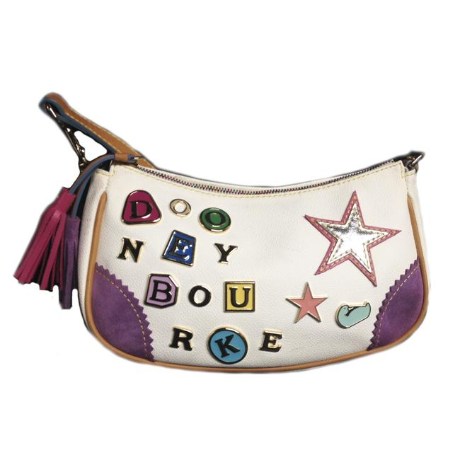 Item - And Charm Purse: J343968 White Leather Baguette