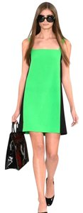 Ralph Lauren Collection Mini Couture Color-blocking Dress