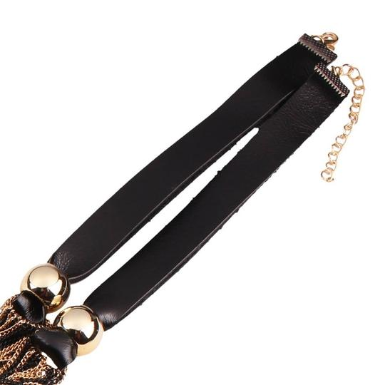 Other New Collar Style Leather Necklace..