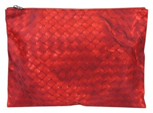 Bottega Veneta New Authentic Intrecciolusion Nylon Cosmetic Bag Pouch 301493
