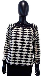 Donna Dengan Long Sleeve Acrylic Striped Sweater