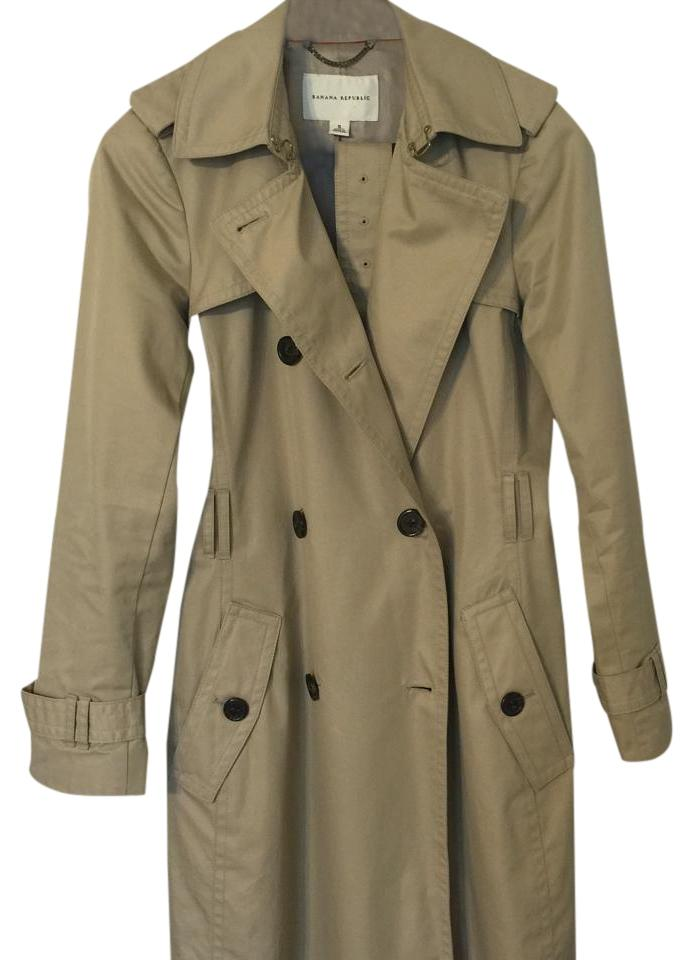Banana Republic Classic Trench Trench Coat 57 Off Retail