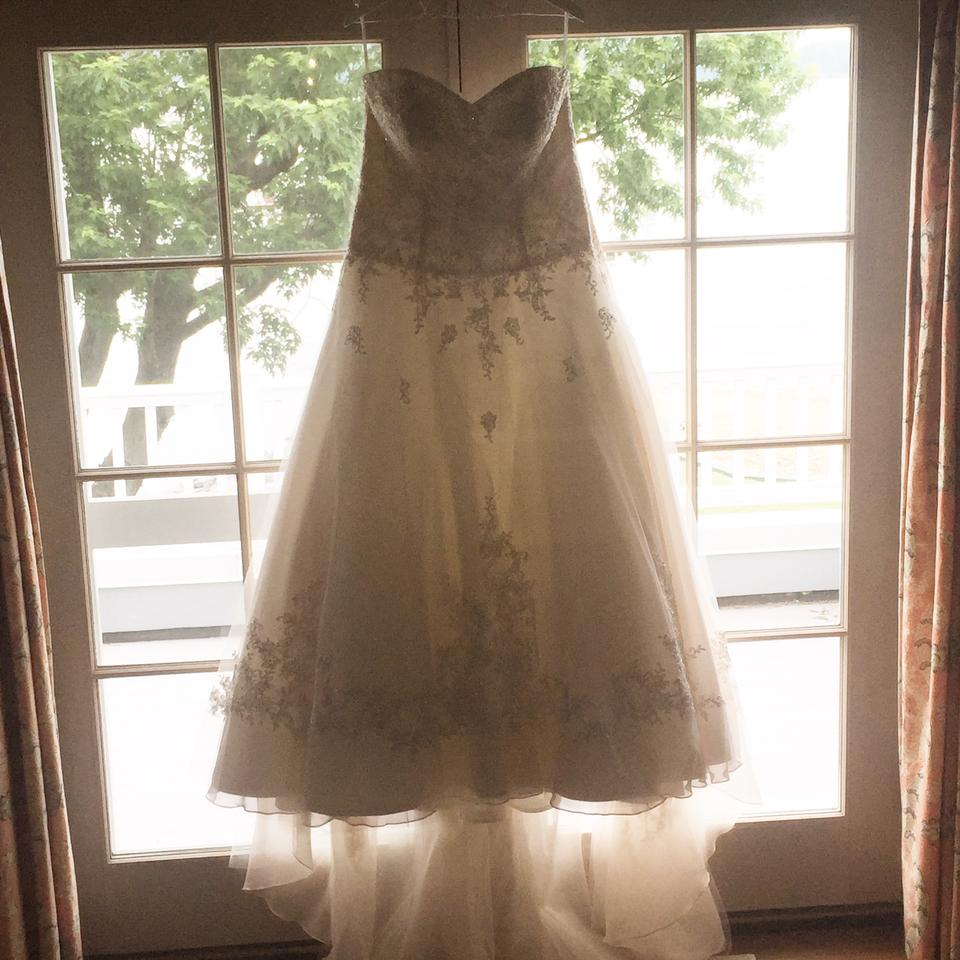 Stella York Blush Lace Strapless Ball Gown Style Number 5833 Formal ...