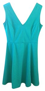 H&M short dress Kelly green on Tradesy