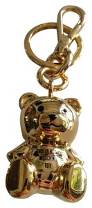 Moschino Moschino Inscribed Bear Key Chain and/or Bag Charm