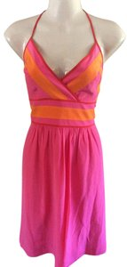 Trina Turk short dress Pink/ orange Vacation Party on Tradesy