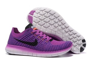 Nike Fly Knits Running Purple Athletic