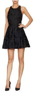 Alice + Olivia Embroidered Lace Party Dress