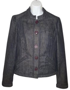 Anthropologie Denim Cotton Louie Womens Jean Jacket