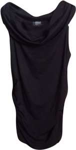 Lilla P Cowl Neck Rouched Top
