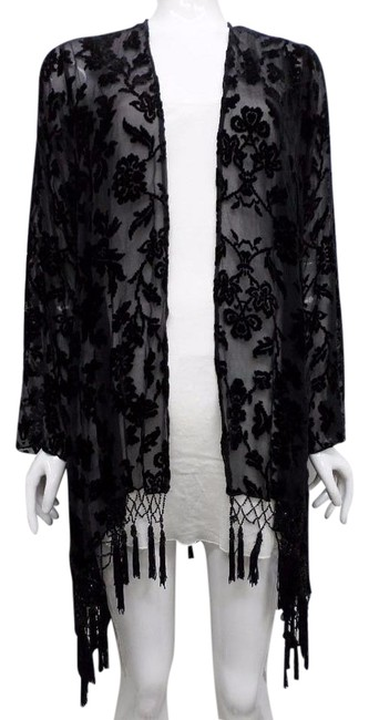 Preload https://img-static.tradesy.com/item/19672150/4-love-and-liberty-black-velvet-burnout-cover-up-by-johnny-was-cardigan-size-12-l-0-1-650-650.jpg