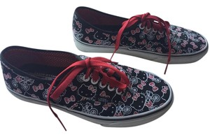 Vans Sneakers Hellos Kitty Black and Red Athletic