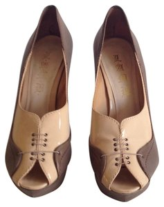L.A.M.B. Light brown/ beige Platforms