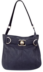 Juicy Couture Leather Brass Shoulder Bag