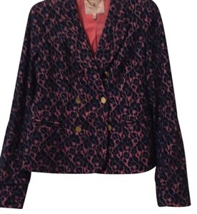 Juicy Couture Lace Gold Summer blue Blazer