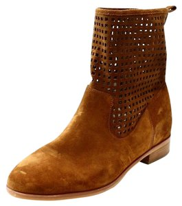 Michael Kors Perforated Suede Womens Boots