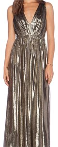 Bronze Maxi Dress by Alice + Olivia