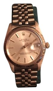 Rolex Oyster Perpetual Date Just In 14 K Gold