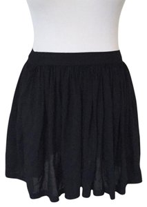 American Eagle Outfitters Mini Skirt black