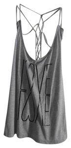 No Boundaries Top Gray-Black