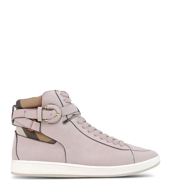 Item - Nude Pink Folkington House Check High Top Sneakers Size US 6.5 Regular (M, B)