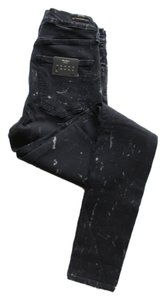 Citizens of Humanity Denim Distressed Skinny Jeans-Dark Rinse