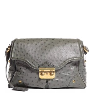 Louis Vuitton Ostrich Leather L Essentiel Shoulder Bag