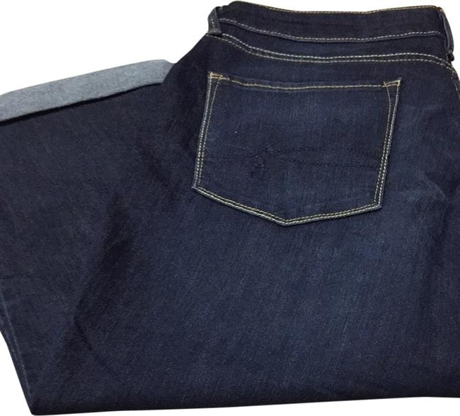 Levi's Capri/Cropped Denim-Dark Rinse