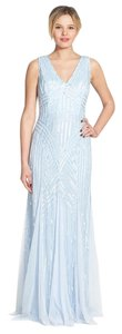 Adrianna Papell Sequins Heavy Beading Formal Wear Bridesmaid Dress