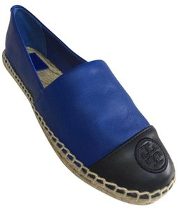 Tory Burch jelly blue, tory navy Flats