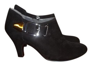 Aerosoles Black Suede with Silver buckle Boots