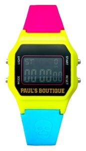 Paul's Boutique Multi Color Skull Sports Watch