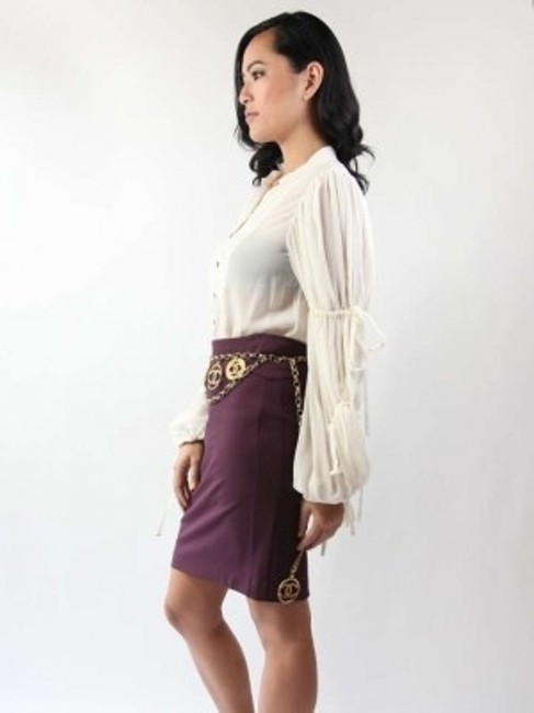 Chaiken Skirt Purple