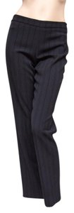 "Cinzia Rocca Pinstriped 31"" Inseam Wool Pants"