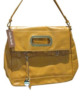 Charles David Tote in New w/tags Mustard Brown