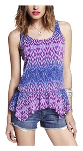 Express Ikat Small Top Multicolor