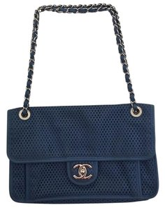 Chanel Up In The Air Satchel in Blue