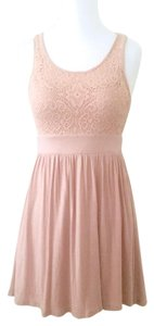 Forever 21 short dress Pink Lace A-line Soft Lined on Tradesy