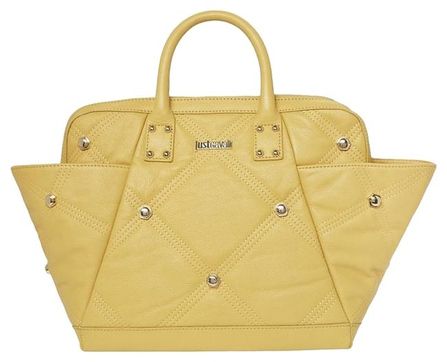 Item - New Handbag Quilted Yellow Leather Tote