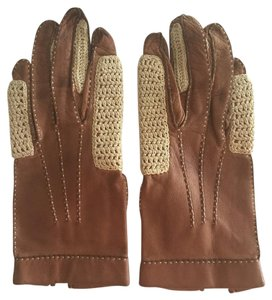 Hermès Authentic Leather Gloves