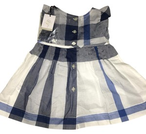 Burberry short dress blue striped Baby Girl Infant on Tradesy