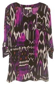 Jones New York Top Black, White, Purple, Pink, Orange