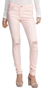 Rag & Bone Holes Distressed Skinny Jeans-Distressed