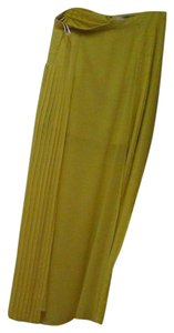 Forever 21 Maxi Skirt Lemon