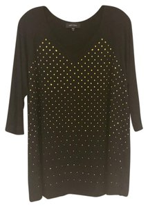 Karen Kane T Shirt Black, Gold