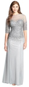 Adrianna Papell Beading Sequin Mother Of The Brides Bridesmaid Dress